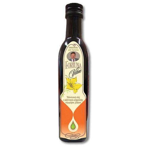 FORTUNA VITAE - tekvicový olej s aktívnym organicky viazaným jódom